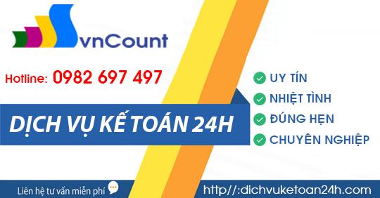 Dịch vụ kế toán 24h